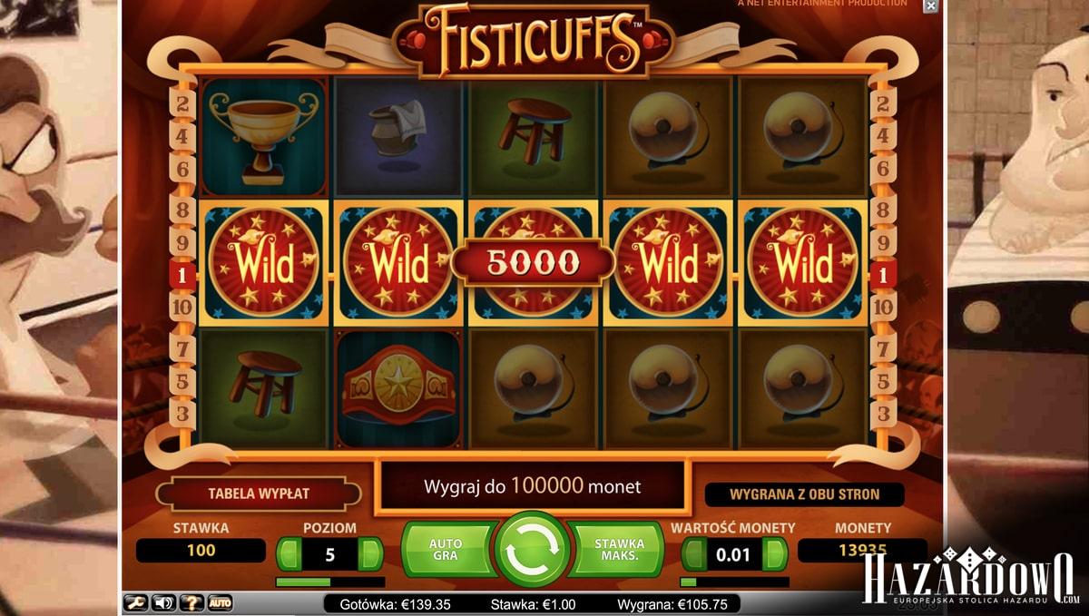Fisticuffs - recenzja automatu do gry w portalu Hazardowo.com