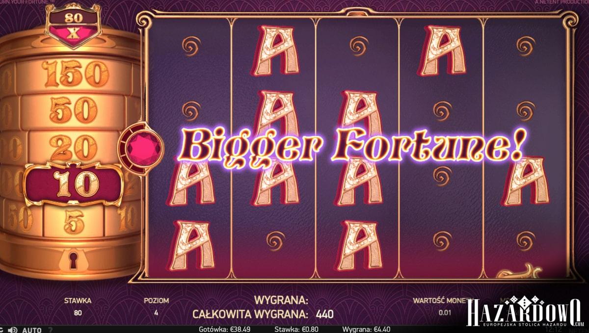 Turn Your Fortune - recenzja automatu do gry w portalu Hazardowo.com