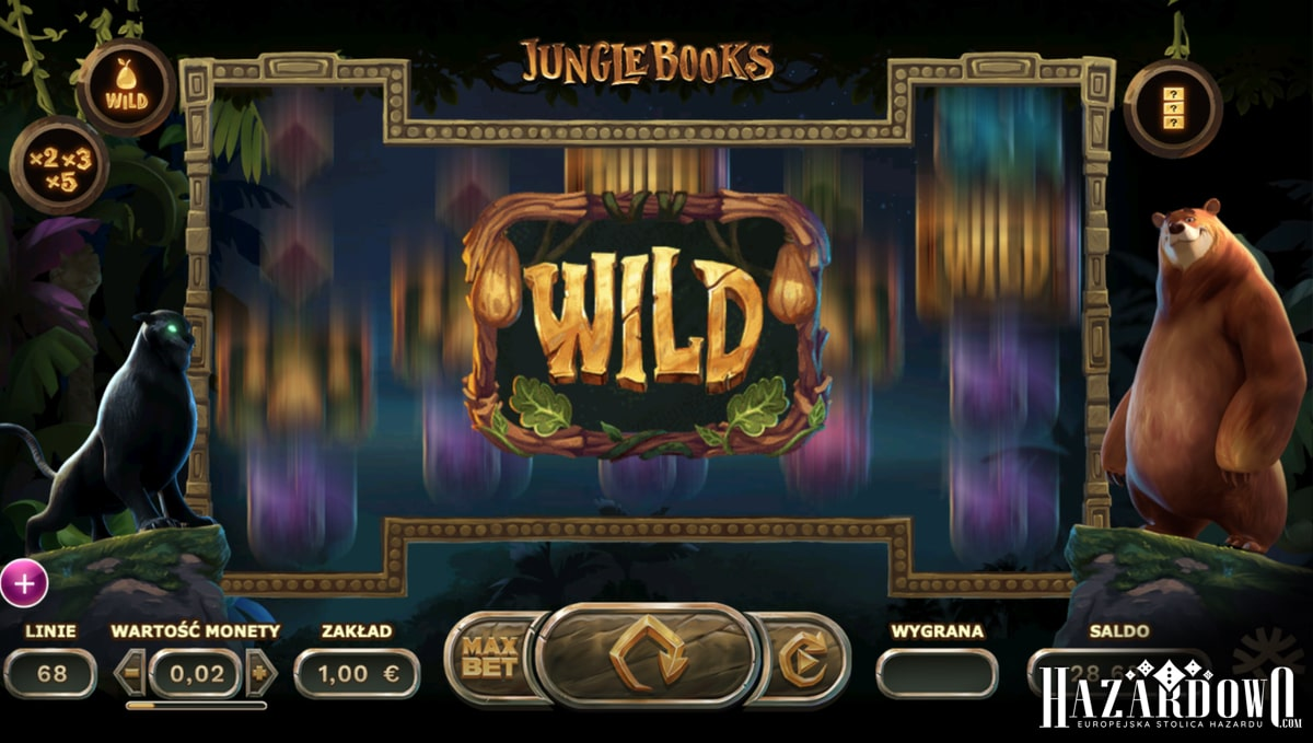 Jungle Books - recenzja automatu do gry online | Hazardowo.com