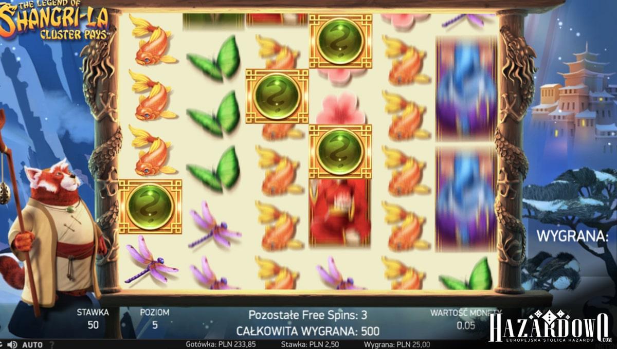 Shangri-La - recenzja automatu do gry w portalu Hazardowo.com