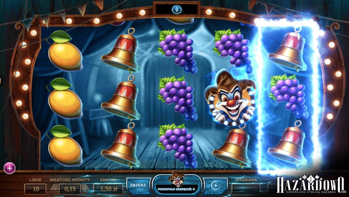 Wicked Circus - recenzja automatu do gry online | Hazardowo.com