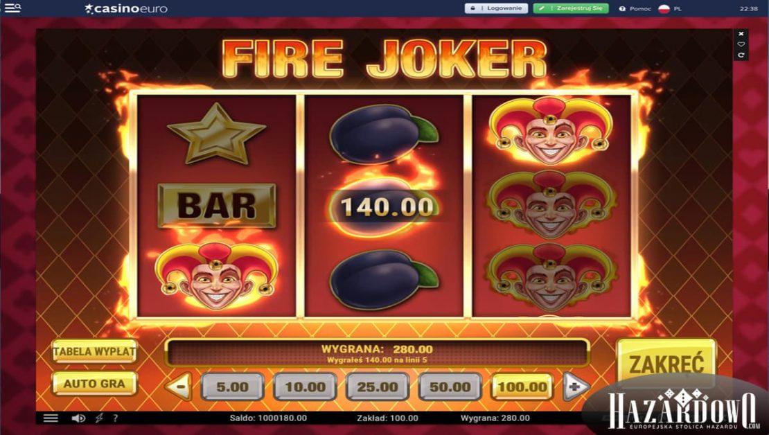 Recenzja kasyna online Casino Euro w portalu Hazardowo - Darmowa gra