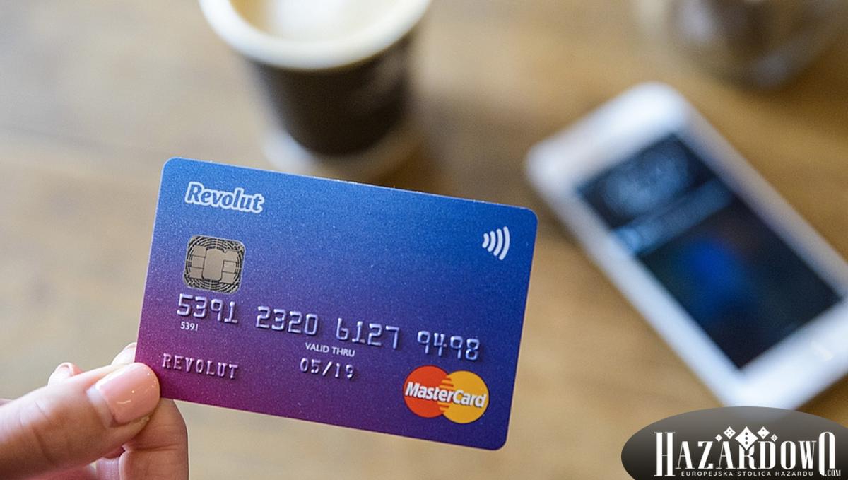 Wpłaty do kasyna online - Karta Revolut