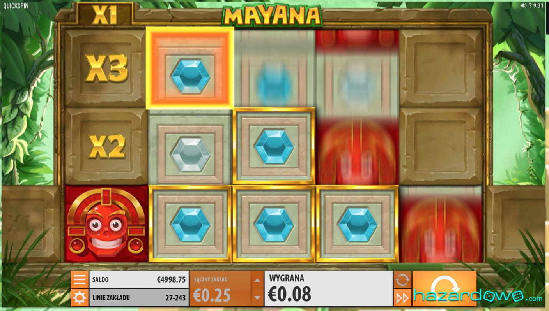 Mayana - recenzja automatu do gry online | Hazardowo.com