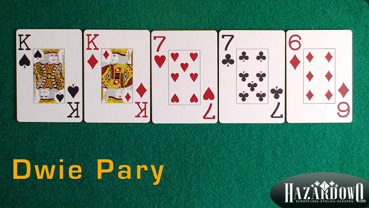 Układy w Pokerze - Dwie Pary - Hazardowo.com
