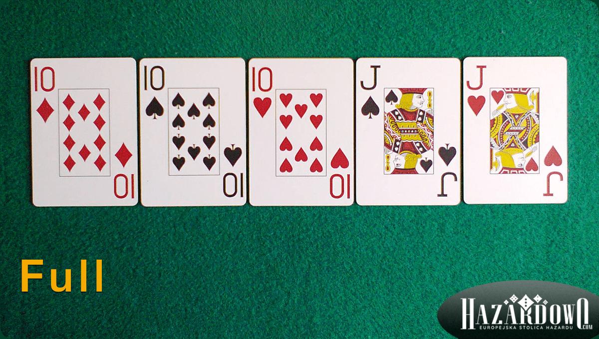 Układy w Pokerze - Full - Hazardowo.com