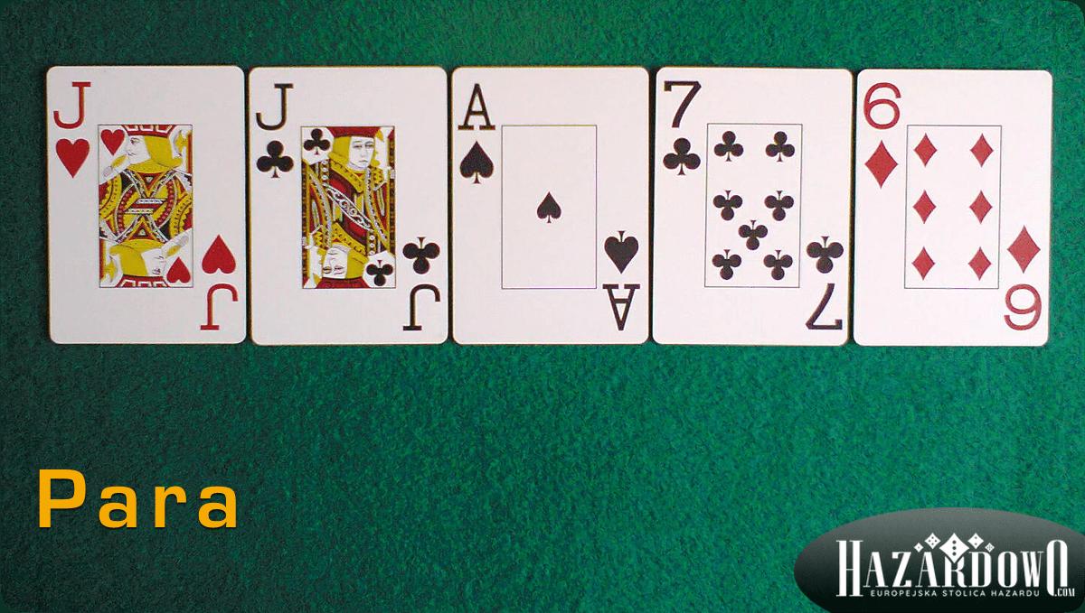 Układy w Pokerze - Para - Hazardowo.com