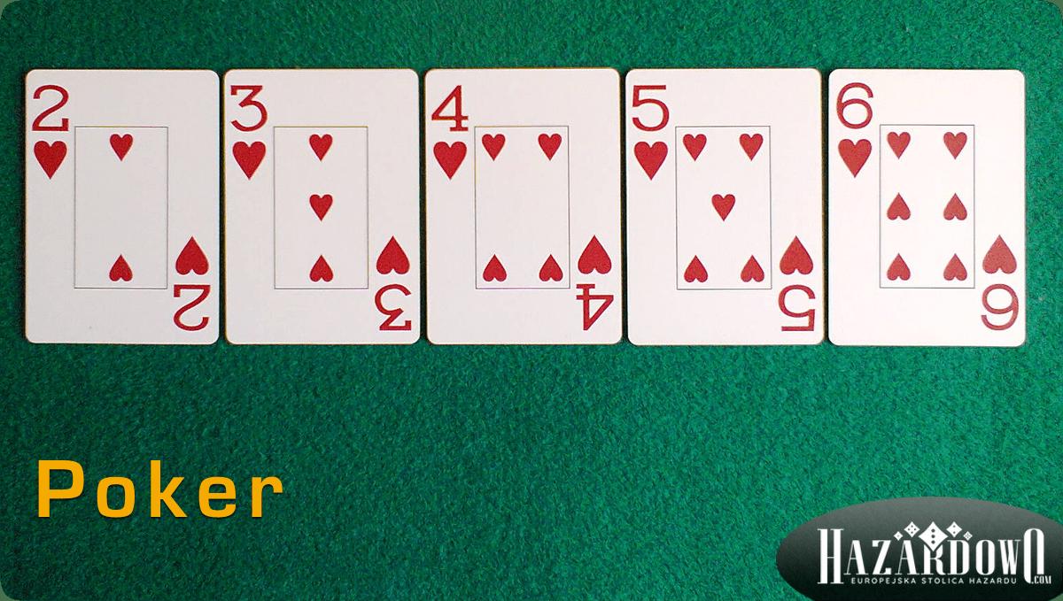 Układy w Pokerze - Poker - Hazardowo.com