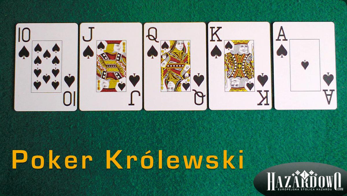 Układy w Pokerze - Poker Królewski - Hazardowo.com