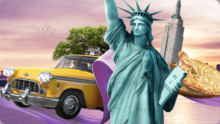 Wyjedź do Nowego Jorku z Casino Euro!