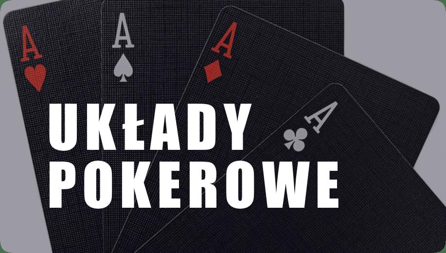 Układy pokerowe - ranking starszości kart w pokerze