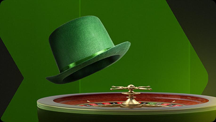Zielona ruletka w kasynie Betsson