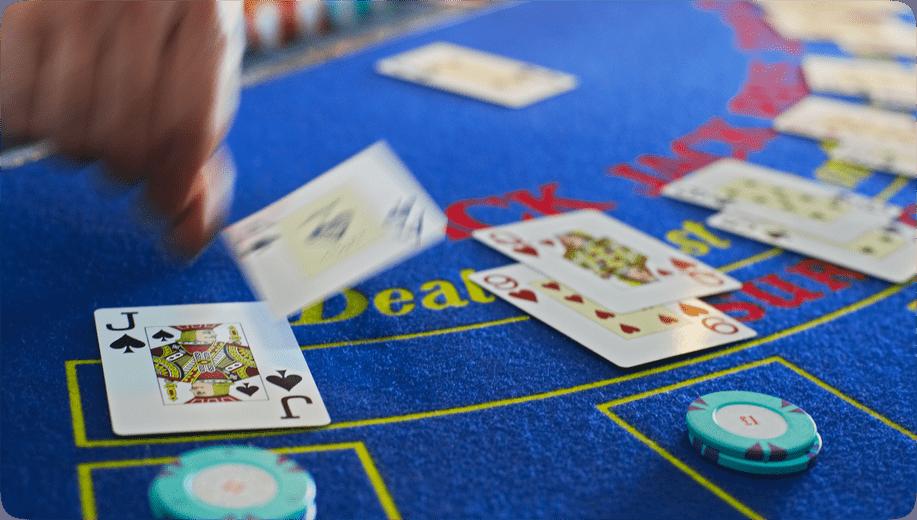 Cztery tygodnie w kasynie live